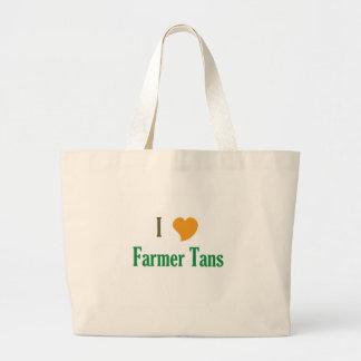 Amo morenos del granjero bolsas