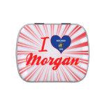 Amo Morgan, Wisconsin Jarrones De Caramelos