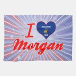 Amo Morgan, Wisconsin Toalla De Cocina
