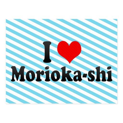Amo Morioka-shi, Japón Postal
