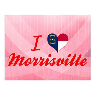 Amo Morrisville, Carolina del Norte Postales