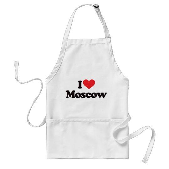 Amo Moscú Delantal