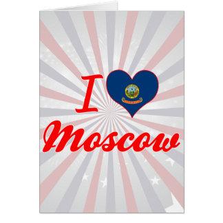 Amo Moscú, Idaho Tarjeton
