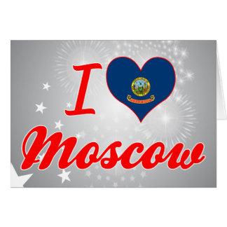 Amo Moscú, Idaho Felicitacion