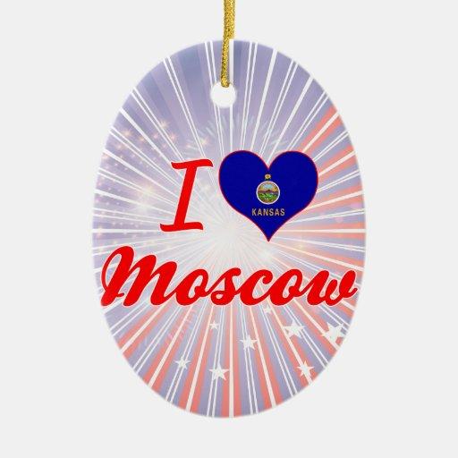 Amo Moscú, Kansas Ornamentos Para Reyes Magos