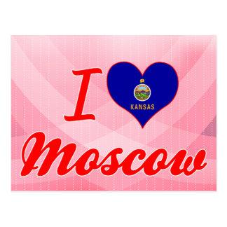 Amo Moscú, Kansas Postales
