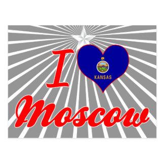 Amo Moscú, Kansas Tarjetas Postales