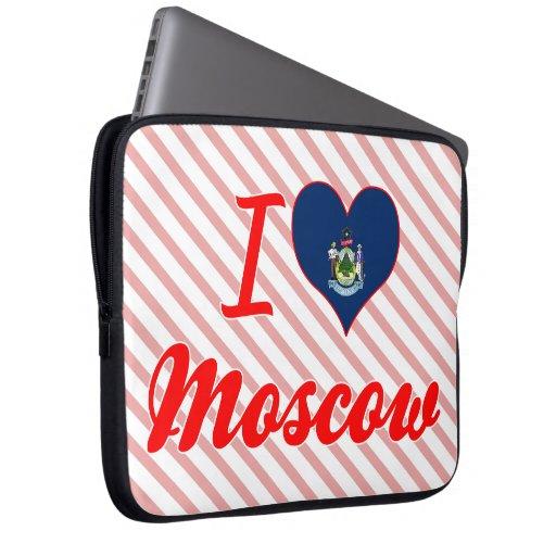Amo Moscú, Maine Fundas Portátiles