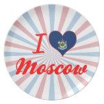Amo Moscú, Maine Plato De Cena