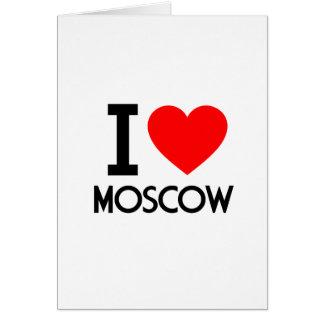 Amo Moscú Felicitaciones