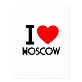 Amo Moscú Postales