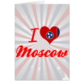 Amo Moscú, Tennessee Tarjeta