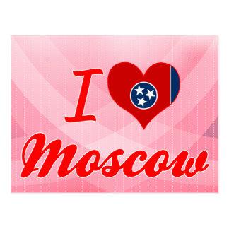 Amo Moscú, Tennessee Tarjeta Postal