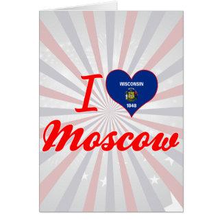Amo Moscú, Wisconsin Felicitación