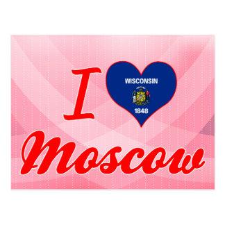 Amo Moscú, Wisconsin Postales