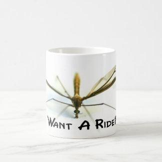 Amo mosquitos taza clásica