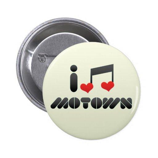 Amo Motown Pin Redondo 5 Cm
