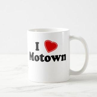 Amo Motown Taza Básica Blanca