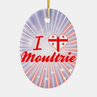 Amo Moultrie, Georgia Adornos De Navidad