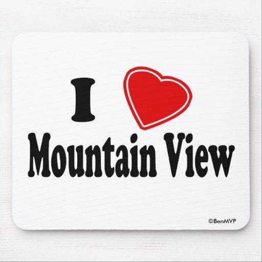 Amo Mountain View Alfombrillas De Ratón