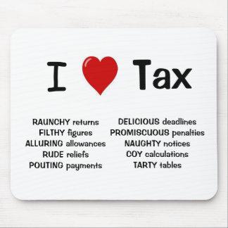 Amo Mousepad grosero y fresco del impuesto