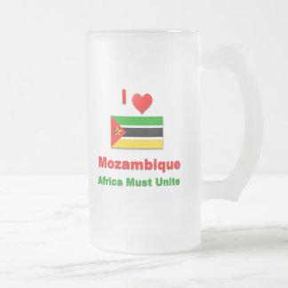 Amo Mozambique, África debo unir Taza De Cristal