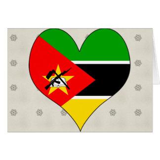 Amo Mozambique Tarjetón