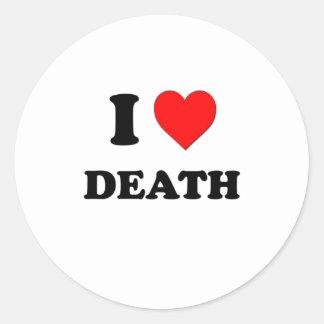 Amo muerte etiquetas