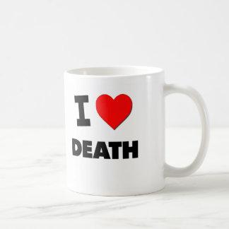 Amo muerte taza de café