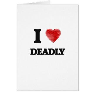 Amo muerto tarjeta de felicitación