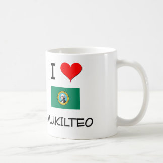 Amo Mukilteo Washington Tazas