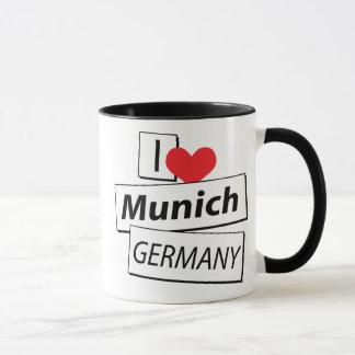 Amo Munich Alemania Taza