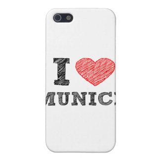 Amo Munich iPhone 5 Carcasas