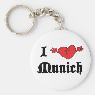 Amo Munich Llavero Personalizado