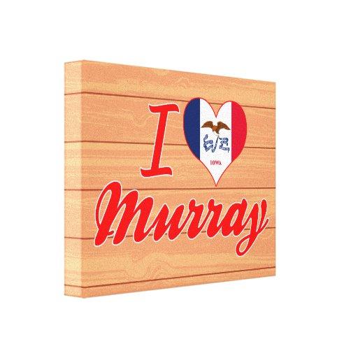 Amo Murray, Iowa Impresión En Lona