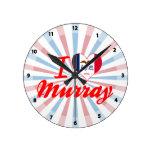 Amo Murray, Iowa Relojes De Pared