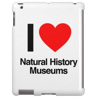 amo museos de la historia natural funda para iPad