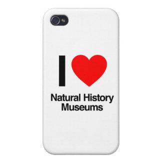 amo museos de la historia natural iPhone 4 carcasa
