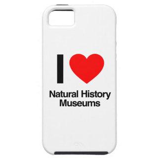 amo museos de la historia natural iPhone 5 funda