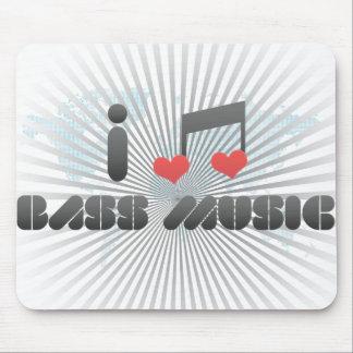 Amo música baja alfombrillas de raton