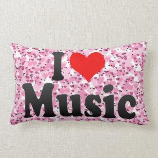Amo música cojines