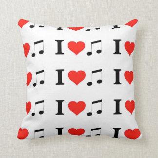 Amo música cojin