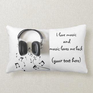 Amo música almohada