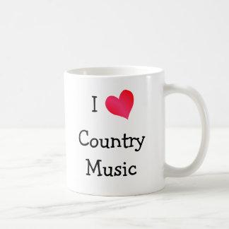 Amo música country taza