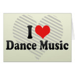 Amo música de danza felicitacion