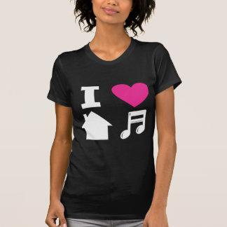 Amo música de la casa camisas