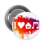 Amo música de la casa pins