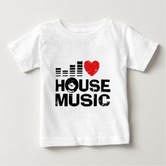 Amo música de la casa playera de bebé