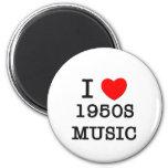 Amo música de los años 50 imanes