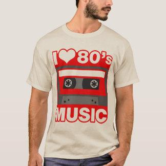 amo música de los años 80 playera